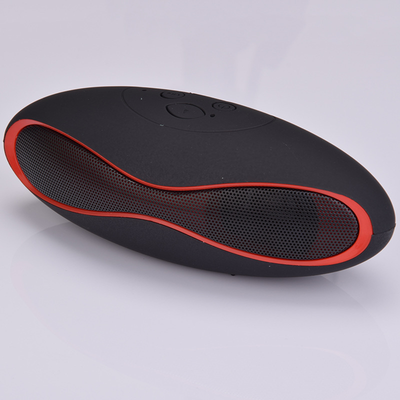 portable TF card slot wireless speaker football bass speaker