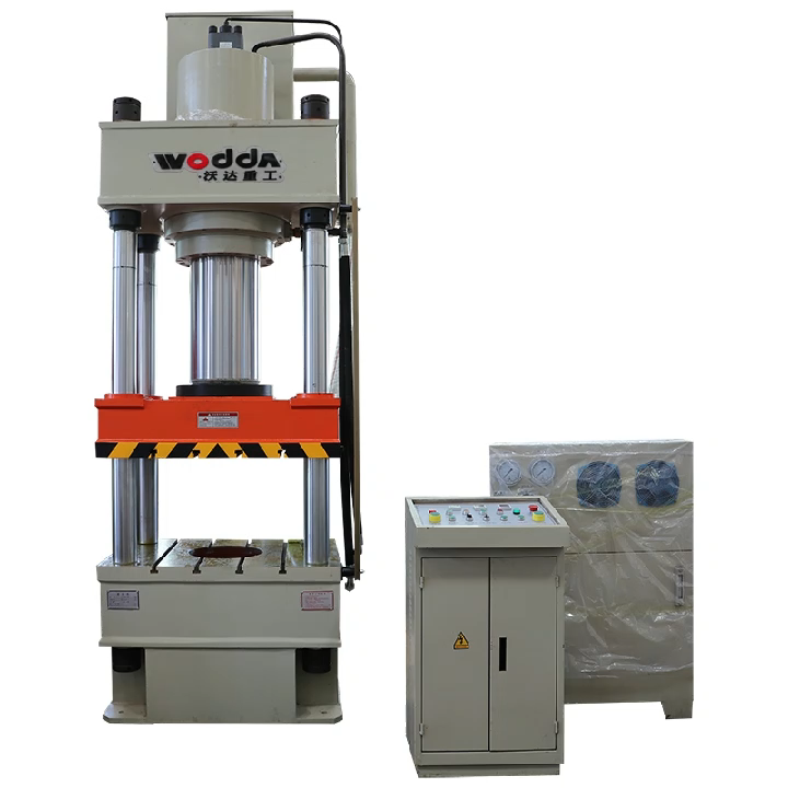 315t composite resin manhole cover heating forming hydraulic press machine