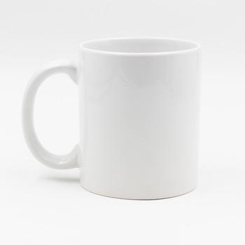 Qualité supérieure 11oz blanc Sublimation Personnalisé Tasse de Café En Céramique pour la Sublimation