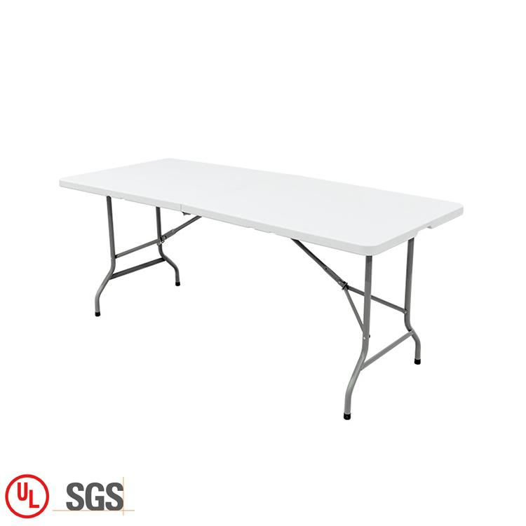 Leichte Kunststoff Rechteck Tische Weiß Dining Bock Tisch