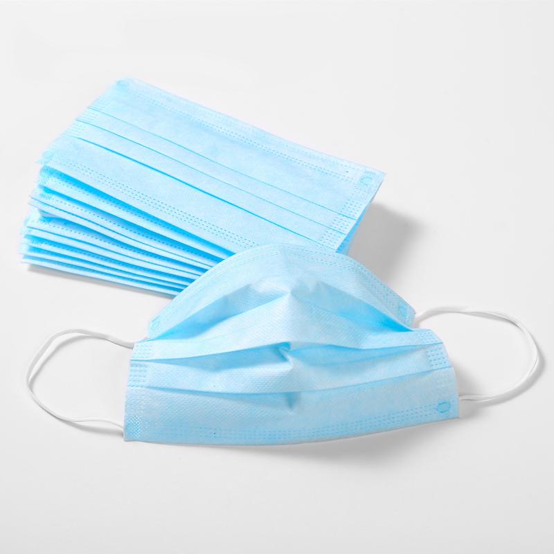 Anti Virus Medical Standard Sanitary Disposable 3 Ply Earloop Face Mask -50 Pcs/Box