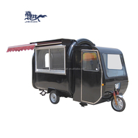 JX-FR220GH New Fast Food Tricycle/Tricycle Food Cart Outdoor Mobile Food Truck
