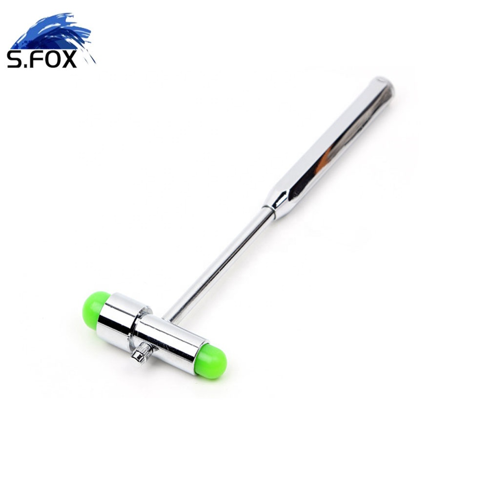 Multifunction Stainless Steel Neurologist Diagnostic Percussion Buck Hammer