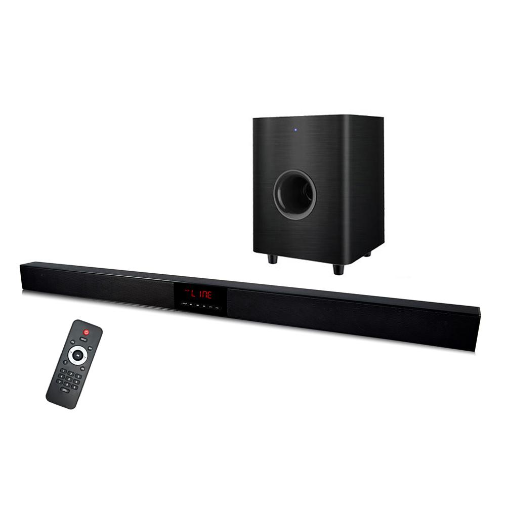 60W 2.1 Home theater Soundbar Surround Bluetooth Speaker System For LED TV