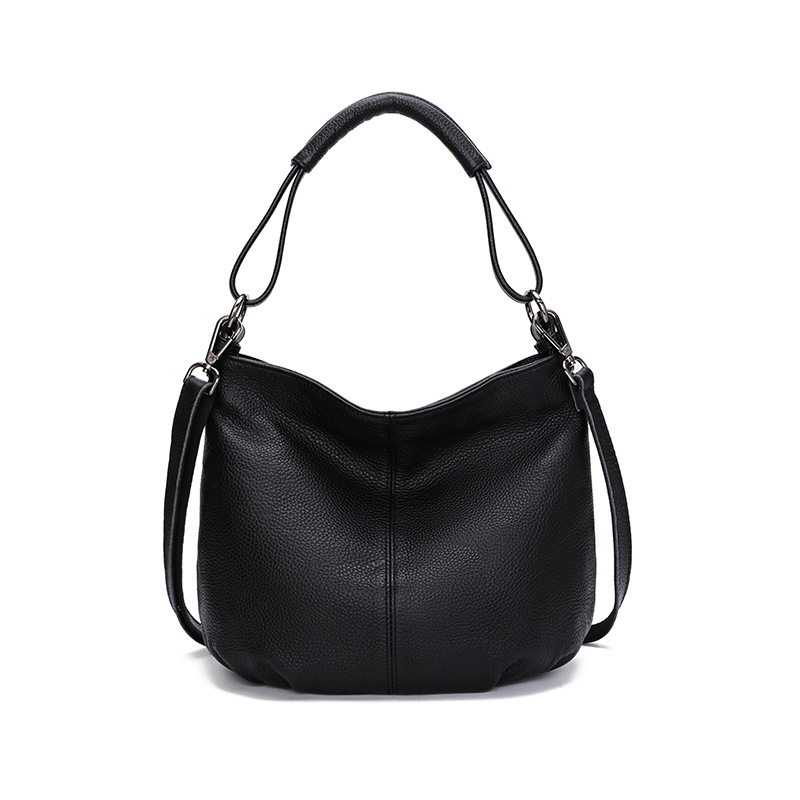 2019 New <strong>Genuine</strong> <strong>Leather</strong> <strong>Hobo</strong> <strong>Bags</strong> Women Soft <strong>Leather</strong> Shoulder <strong>Bag</strong>