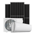 Sunpal Solar Air Conditioner Price Split Model Solar Powered AC DC Hybrid On Off Grid Air Conditioner Btu Wall Mounted