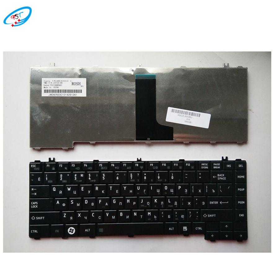 جديد الكمبيوتر المحمول الإنجليزية لوحة مفاتيح توشيبا الأقمار الصناعية L600 L630 L640 L645 C600 C640 C645 استبدال US لوحة مفاتيح سوداء