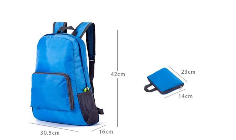 2020 high quality custom logo outdoor travelling backpack with shoulder bags waterproof foldable backpack bag
