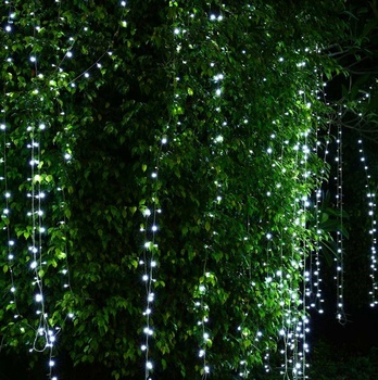 LED curtain lights 2*2/3*1/ 3*2/3*3m Christmas icicle decorative lights lights string