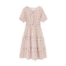 Летнее Хлопковое платье INAMN с бантом в форме пузырьков, милое платье в форме торта(Китай)