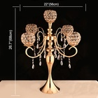 Stand Table Wedding Decoration Wedding Table Decoration Gold Silver Wedding Centerpiece Flower Stand Candelabras Wedding Table Decoration