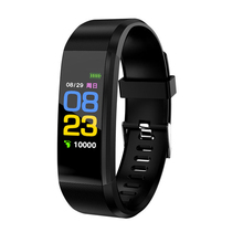 Hot Selling Id 115 Plus Smart <span class=keywords><strong>Armband</strong></span> 115 Plus Smart Horloge Sport Fitness <span class=keywords><strong>Slimme</strong></span> Band