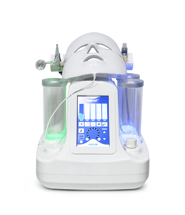 Home Use Portable Water Hydra Skin Peel Facial Machine , Hydro Spa Aqua Clean Peel Dermabrasion Microdermabrasion Machine Equipo