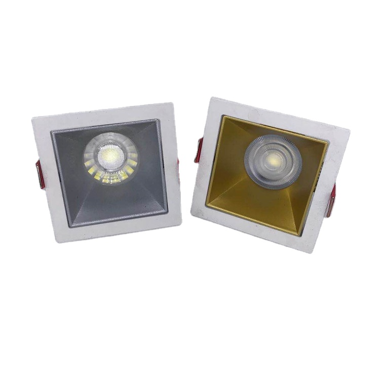 Factory aluminum square <strong>gu10</strong> cob led lighting led module Trimless MR16 spot light
