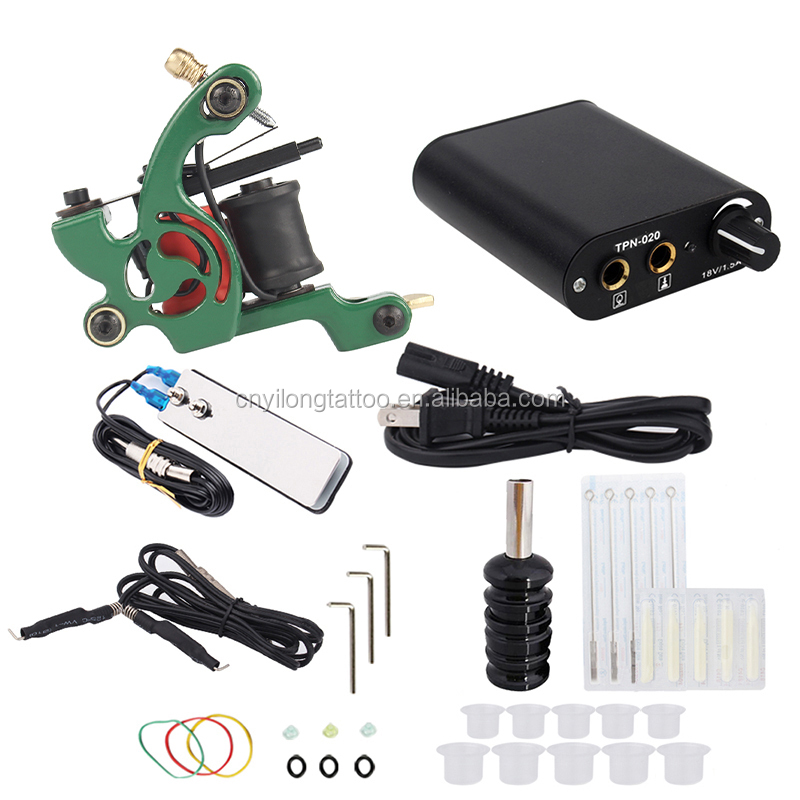 Advanced Simple Permanent Makeup Kit Tattoo Machine  Private Label Available