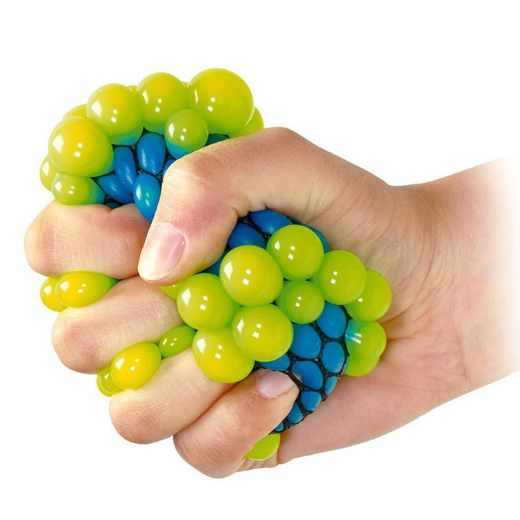 Slimeantistress Anti Hand Squish Net Rainbow Squeeze Toy Grape Pressure  Decompression Slime Stress Relief Squishy Mesh Ball - Buy Squishy Mesh  Ball,Squeeze Ball,Squishy Stress Relief Balls Product on Alibaba.com