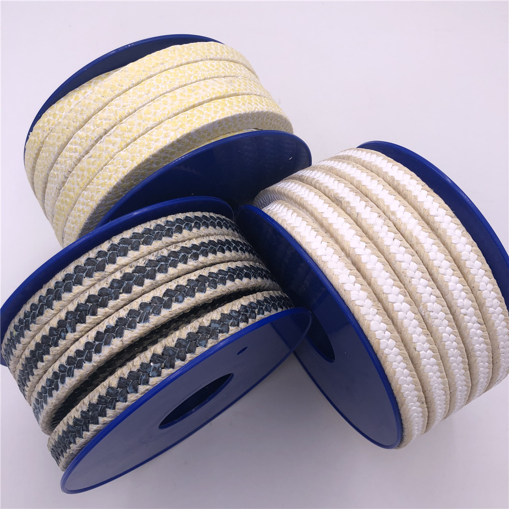 Custom made aramid fiber ptfe packing