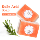 Soap Fast Delivery Wholesale 150g Natural Organic Bath Toilet Soap Body Whitening Handmade Kojic Acid Face Soap