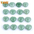 Wholesale Natural Green Aventurine Crystal Heart for Home Decoration
