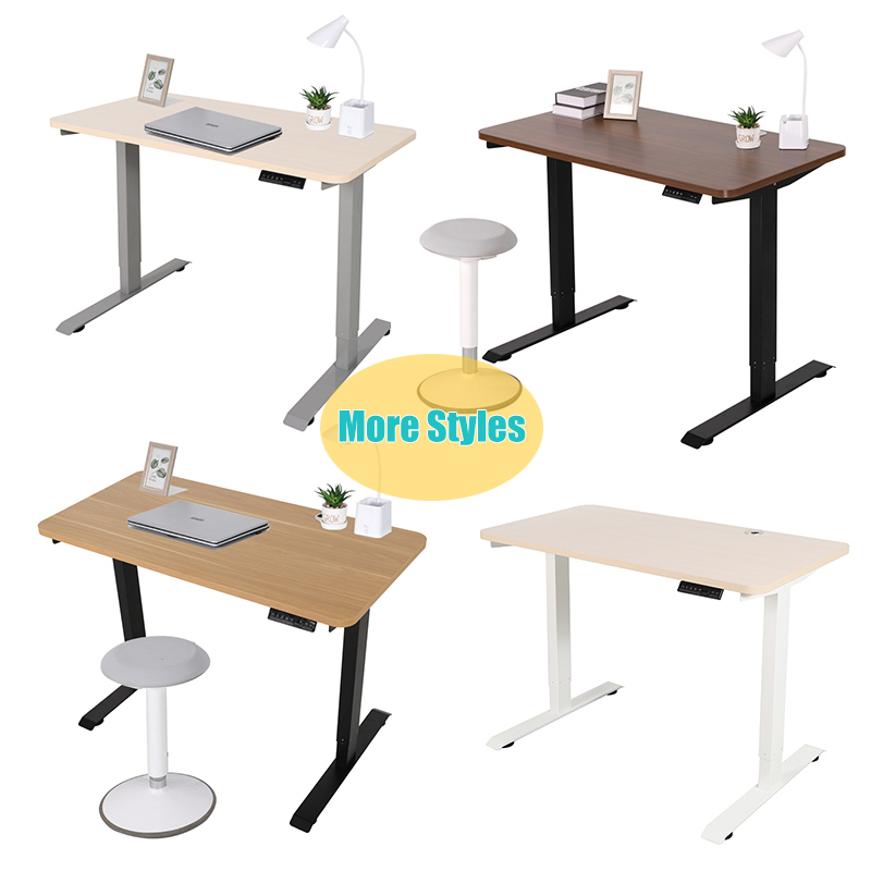 On Sale Low Noise Height Adjustable Laptop Electric Sit To Stand Up Computer Desk