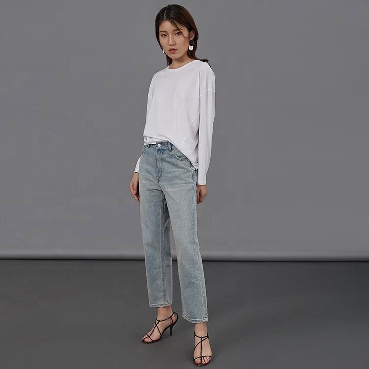 2019 inverno novo estilo de preços Por Atacado mulheres jeans colombiano com preço de atacado e de três tipos de cor
