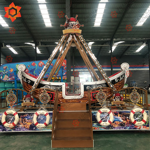 Amusement rider outdoor adult mini park games cheap pirate boat china manufacturer swing boat