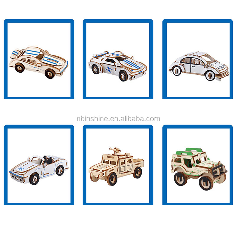 DIY 3D wood craft Hobbies Toy Guns Action Military Toys War Weapon Gun Model 3d wooden puzzle for boy gifts