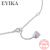 EYIKA A initial necklace alphabet letter necklace pendant silver statement cklace925 sterling silver necklace jewelry for women