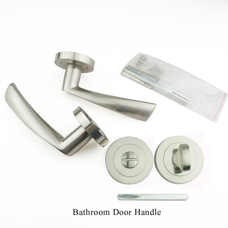 Best-selling split interior entry zinc alloy exterior modern door aluminum handle for doors in China