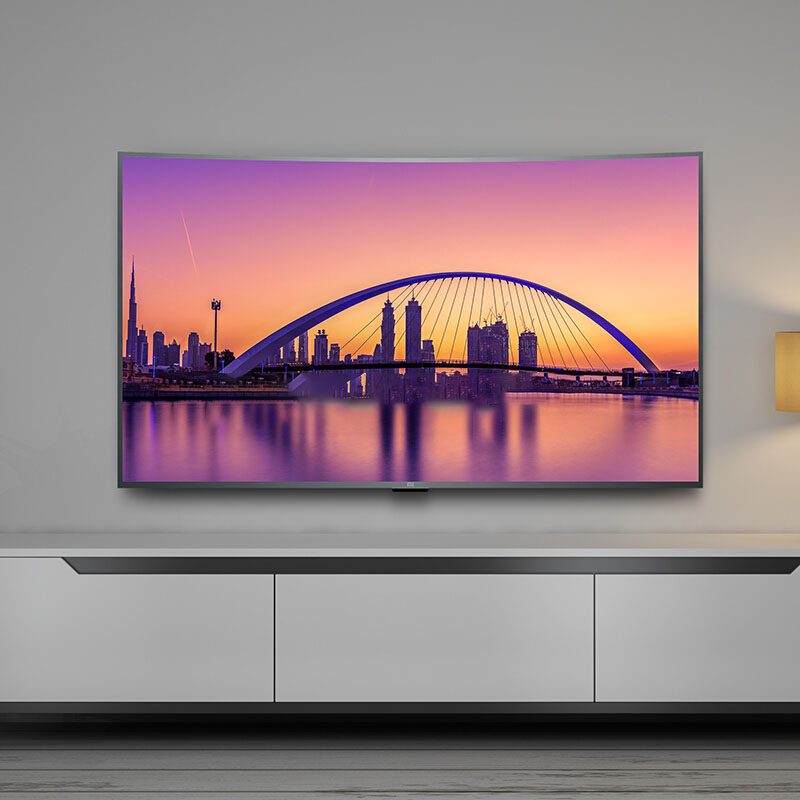 Television Xiaoimi Mi <strong>TV</strong> Android <strong>TV</strong> 4S 55inches 4000R Curved 4K HDR Screen <strong>TV</strong> WIFI Ultra-thin 2GB+8GB Audio 100% Russified