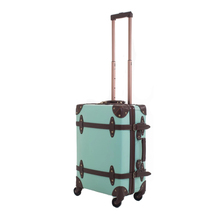 Hot pink deposito set, <span class=keywords><strong>vintage</strong></span> <span class=keywords><strong>valigia</strong></span> di cuoio, pu carry-on con ruote