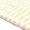 Wholesale Customized Plain Style 100Gsm Woven Stripe Resist-dye TC Cloth Fabric