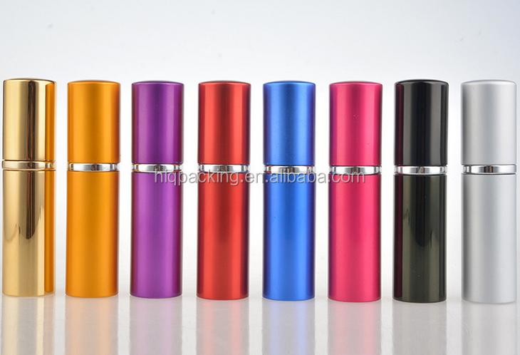 empty 8 ml 10ml twist aluminium bottle 8ml perfume spray refillable bottles