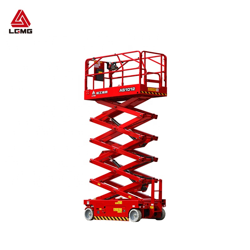 LGMG AS1012 12m self propelled แพลตฟอร์มยก scissor lift