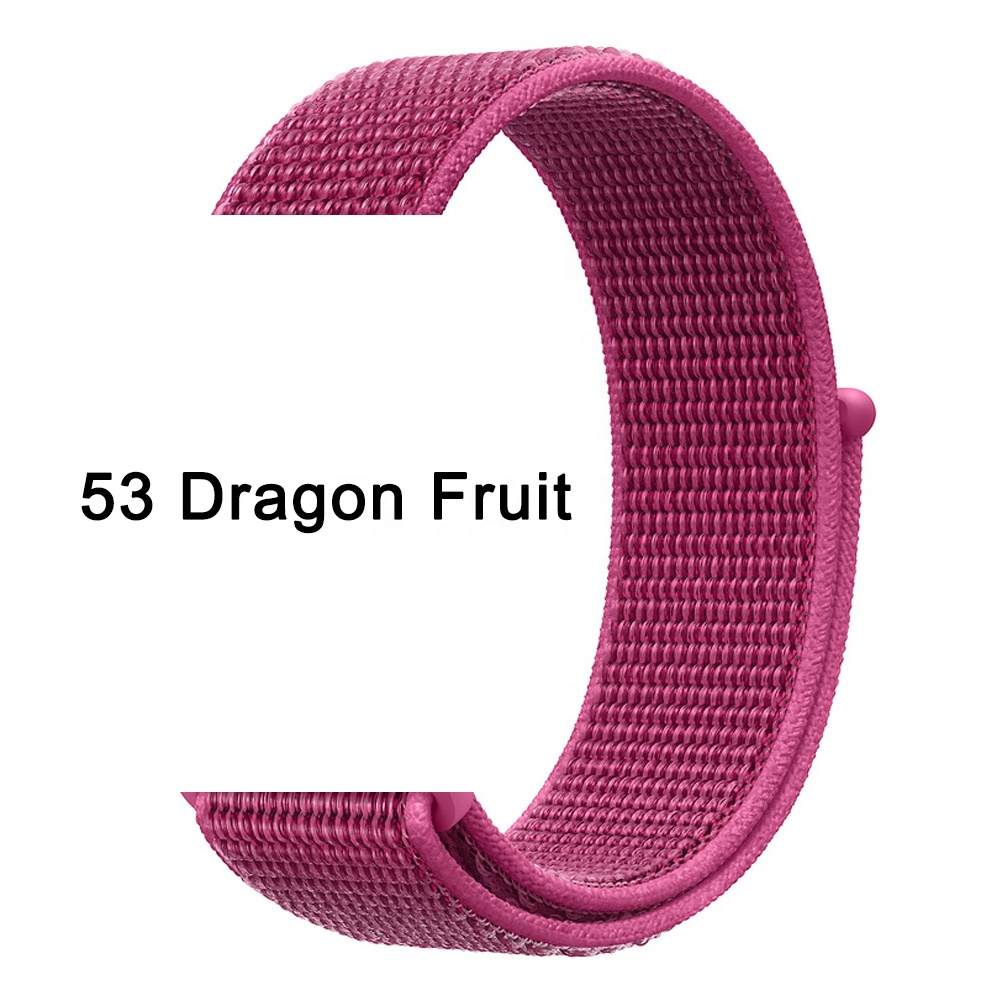 Tschick Nylon Wristbands For Apple Watch Band 38/40mm 42/44mm,Woven Nylon Sport Loop Replacement Strap For iWatch 6 SE 5 4 3