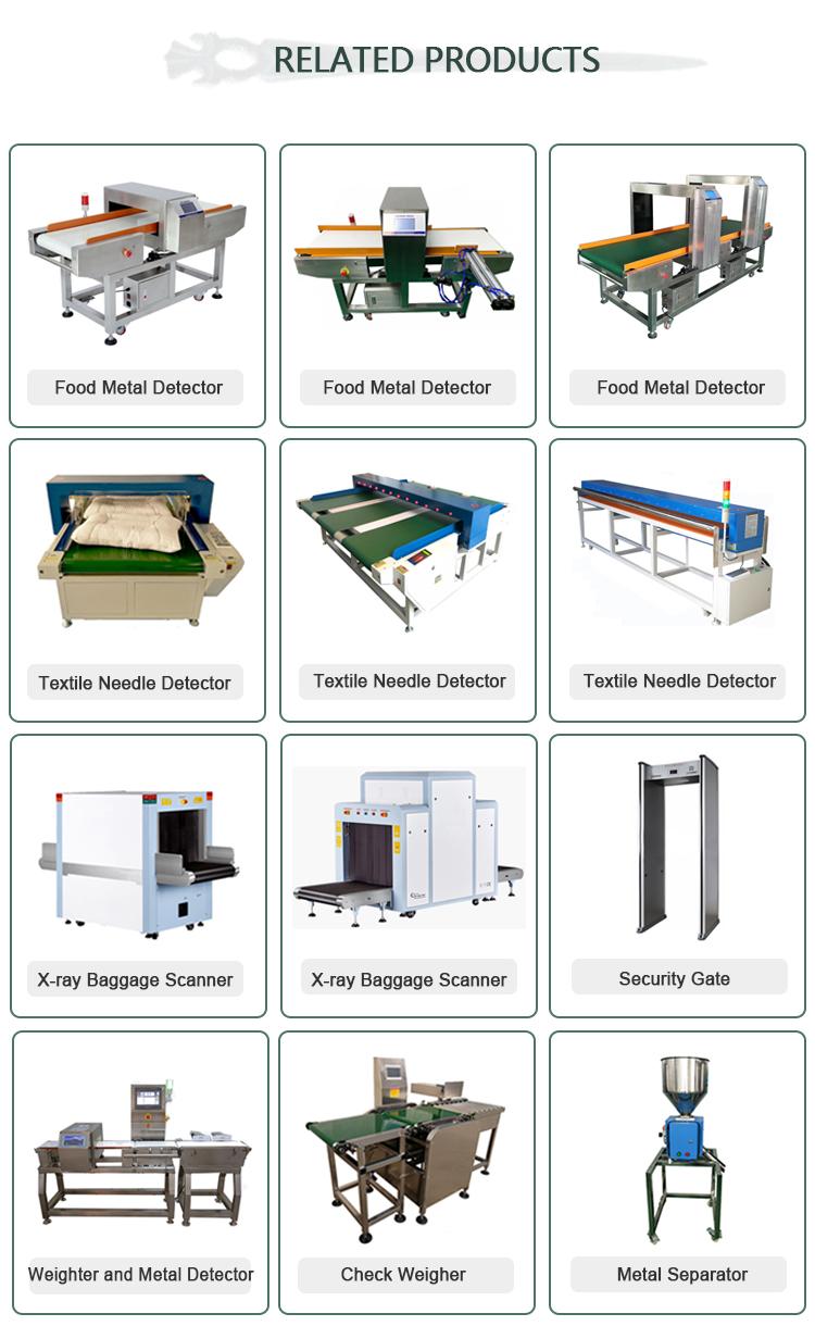 Sensitivitas Tinggi On-Line Tekstil Probe Detektor Logam Harga