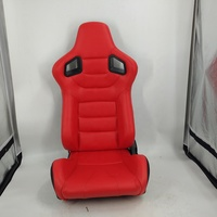 Adjustable Universal Comfortable High Quality PVC Leather Sport Car Auto Racing Seat