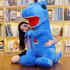 Doll The Cartoon Plush Toy Was Angry T-rex Stuffed Animal Dinosaur Doll Birthday Presents Boys And Girls Sleeping With Pillow