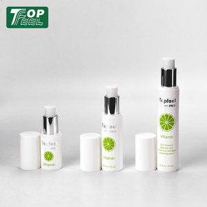 Plastic PP airless cosmetic pump bottle 10ml 15ml 25ml 30ml 45ml 50ml