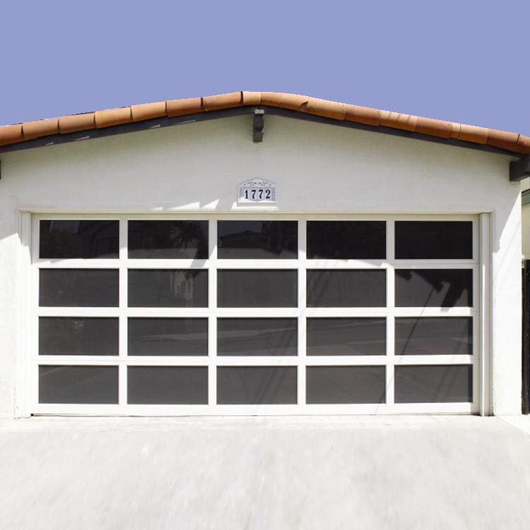 CE Automatic Customized Size Glass Panel Garage <strong>Door</strong>