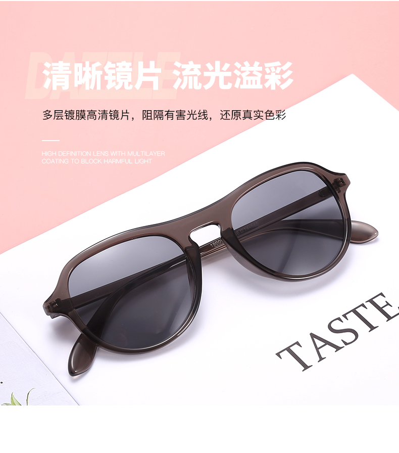 THREE HIPPOS Unique Sun Glasses Unisex Metal Gradient Custom Logo Shades 2020 New Arrivals Personalized Sunglasses
