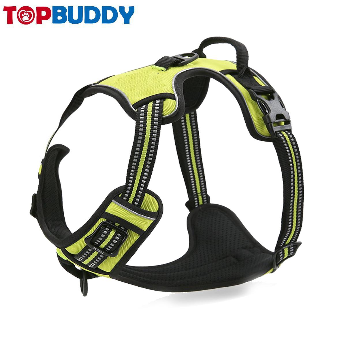Oem No Pull Custom Harness Dog Easy Walk Nylon Dog Pet Harness Reflective Pet Dog Harness No