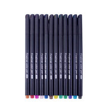 Ручки для дневника, 36 цветов, тонкие маркеры, тонкие наконечники, ручки для рисования, пористая ручка для журналов, авторемонт(Китай)