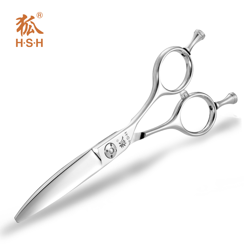 VAS-60 6.0 inch Japanese VG1 steel Curved hair scissors curved hair shears curved blade hair scissors cobalt steel wholesale