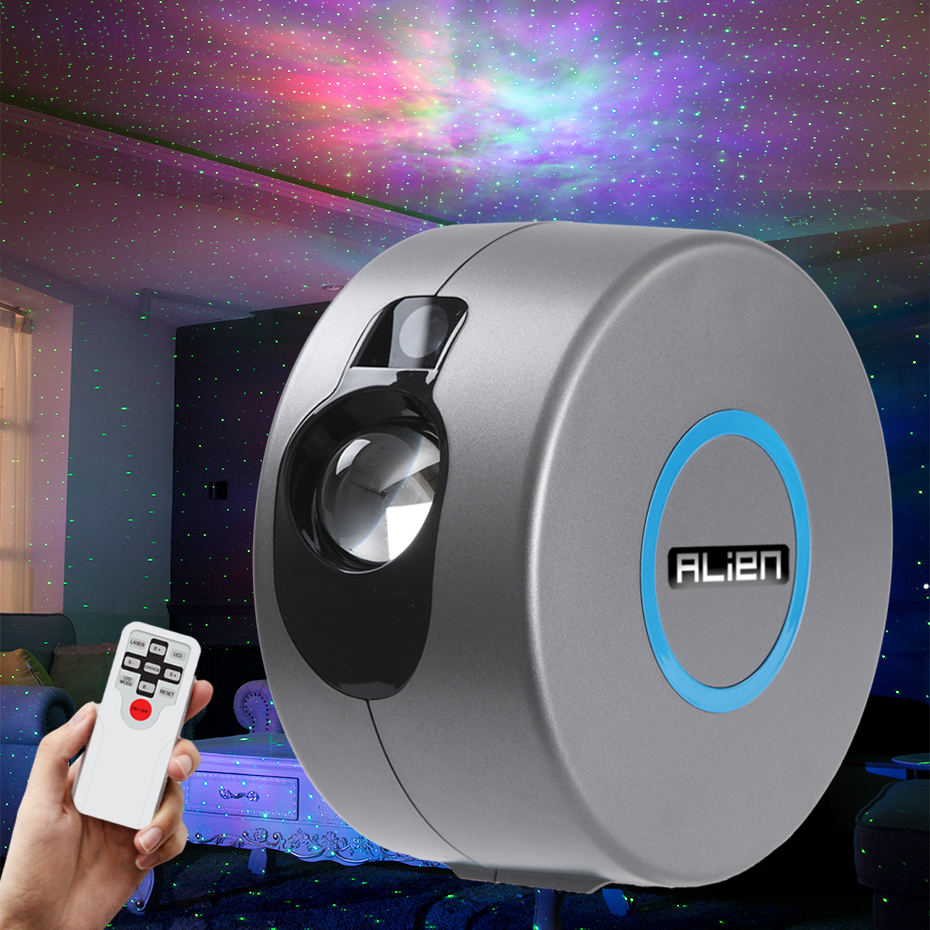 RGB Twinkling Star laser Light Projector For Party Bedrooms