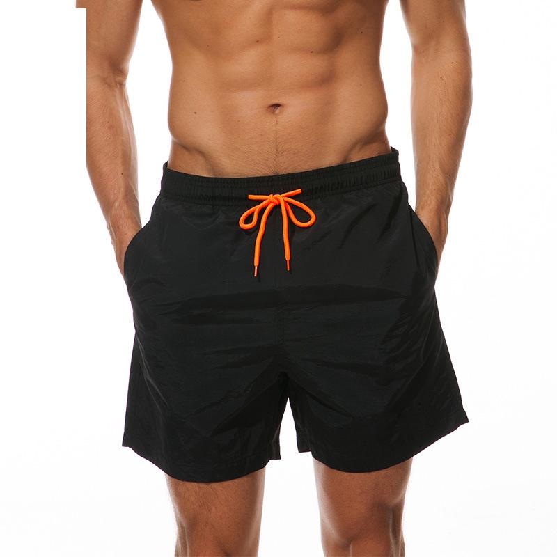 Summer New Casual Shorts Men Shorts Loose Elastic Waist Breathable Beach Shorts 10
