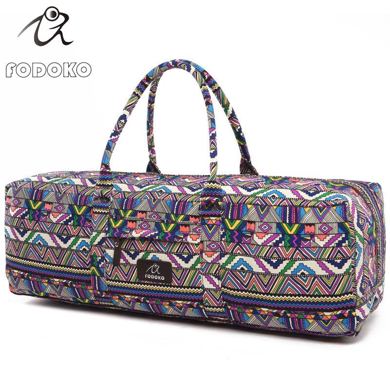 Factory Wholesale Spot New Printed Eco Friendly Custom Women Fitnesst Yoga Mat Sling Bag