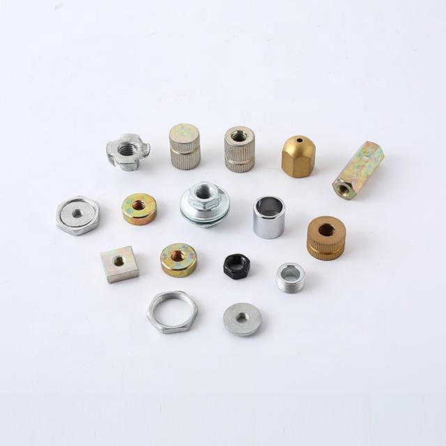 Custom Hardware Knurled Nut Series With Screw Thread
