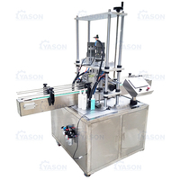 Strawberry Jam Bottle Screw Plastic Cover Filling Line Capping Machine