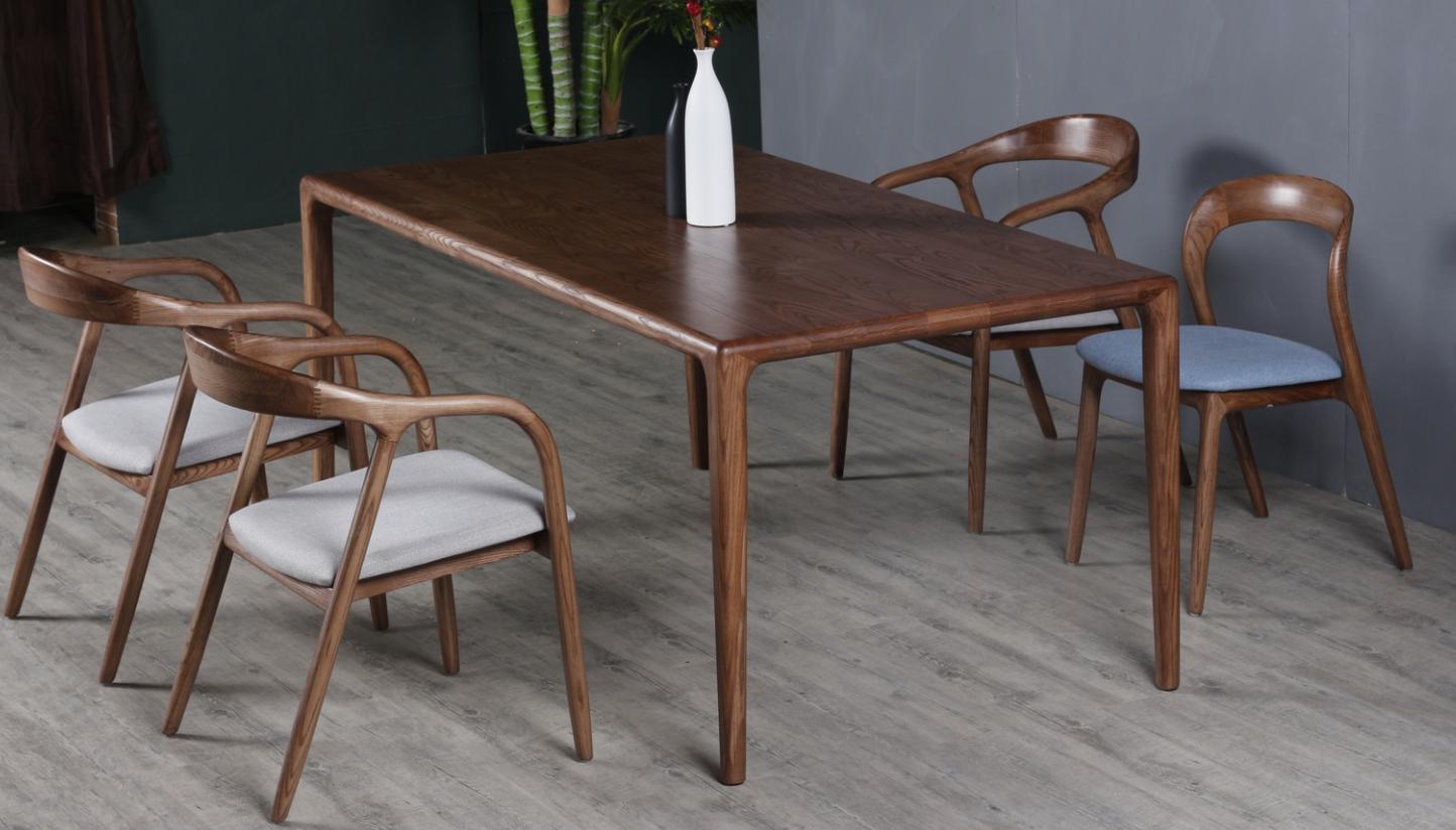 Scandinavian Simple Design Dining Room Furniture Solid Wood Dining Table Set 4 Chairs Buy Set Meja Makan 4 Kursi Meja Makan Kayu Solid Dan 4 Kursi Skandinavia Sederhana Desain Meja Makan